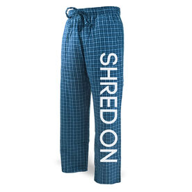 Snowboarding Lounge Pants Shred On