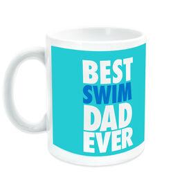 Swimming Ceramic Mug Best Dad Ever