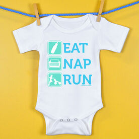 Baby One-Piece Eat Nap Run