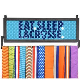 AthletesWALL Medal Display - Eat Sleep Lacrossse Mesh