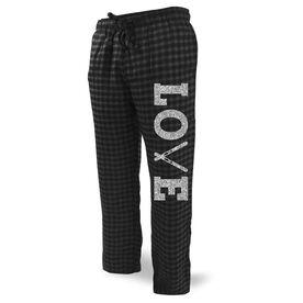 Skiing Lounge Pants Love Ski