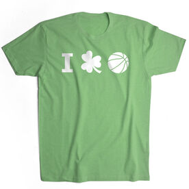 Basketball Short Sleeve T-Shirt - I Shamrock Basketball