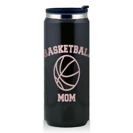 Stainless Steel Travel Mug Basketball Mom