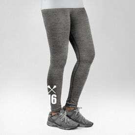 Lacrosse Performance Tights Number