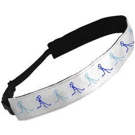 Julibands No-Slip Headbands Hockey Stick Figure