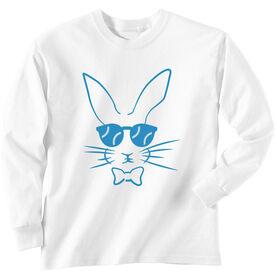 Baseball Tshirt Long Sleeve Hopster Baseball Bunny