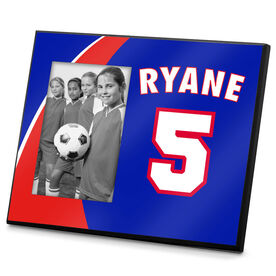 Soccer Photo Frame Player Name Number