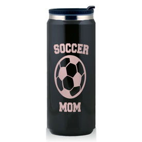 Stainless Steel Travel Mug Soccer Mom