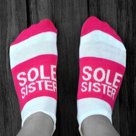 Socrates™ Woven Performance Socks Sole Sister (Fuchsia)