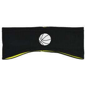 Basketball Reversible Performance Headband Basketball Ball