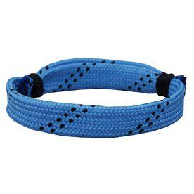 Hockey Lace Bracelet Light Blue Adjustable Wrister Bracelet