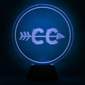 Cross Country Acrylic LED Lamp Arrow