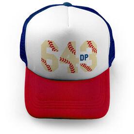 Baseball Trucker Hat - 6-4-3 Double Play