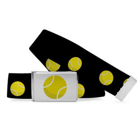 Tennis Lifestyle Belt Cartoon Tennis Ball