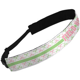 Julibands No-Slip Headbands Field Hockey Text with Sticks Pattern