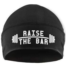 Beanie Performance Hat - Raise The Bar (White Lettering)