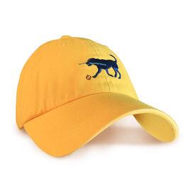 Softball Dog Hat - Soft Yellow