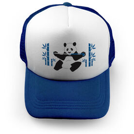 Field Hockey Trucker Hat Panda