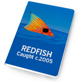 Fly Fishing Notebook Redfish Tailing