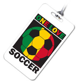 Soccer Bag/Luggage Tag One Love Soccer