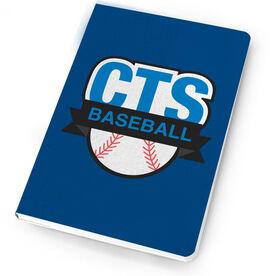 Baseball Notebook Custom Team Logo