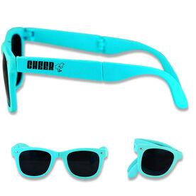 Foldable Cheerleading Sunglasses Cheer Chick