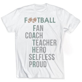 Vintage Football T-Shirt - Father Words