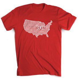 Running Short Sleeve T-Shirt - USA Runner