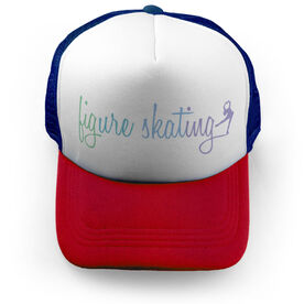 Figure Skating Trucker Hat Finesse