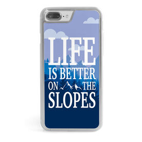 Skiing & Snowboarding iPhone® Case - Life Is Better On The Slopes