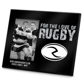 Rugby Photo Frame For The Love Of Rugby