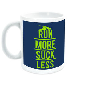 Running Ceramic Mug Run More Suck Less