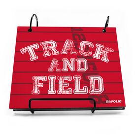 BibFOLIO® Race Bib Album - Track and Field