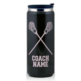 Stainless Steel Travel Mug Lacrosse Guys Coach