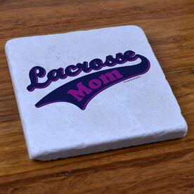 Lacrosse Mom - Natural Stone Coaster