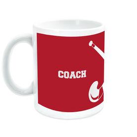 Field Hockey Ceramic Mug Coach