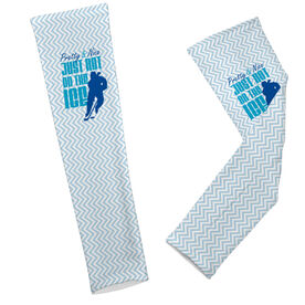Hockey Printed Arm Sleeves Hockey Pretty and Nice Just Not on the Ice
