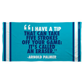 Golf Beach Towel I Have A Tip