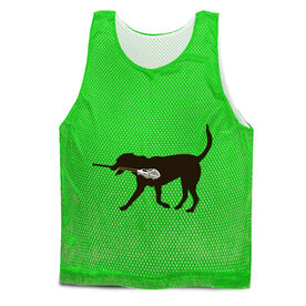 Guys Lacrosse Pinnie - Max the Lax Dog