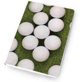 Golf Notebook Golf Balls