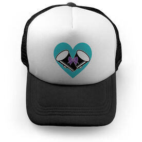 Cheerleading Trucker Hat - Cheer Your Heart Out