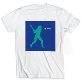 Softball Tshirt Short Sleeve iPlay Softball