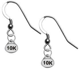 Sterling Silver 10K Earrings