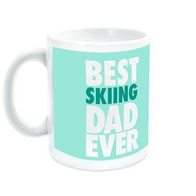 Skiing Ceramic Mug Best Dad Ever