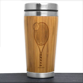 Bamboo Travel Tumbler Tennis Racket