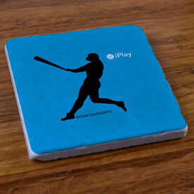 iPlay Baseball - Stone Coaster