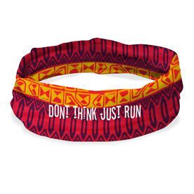 RokBAND Multi-Functional Headband - Don't Think Just Run