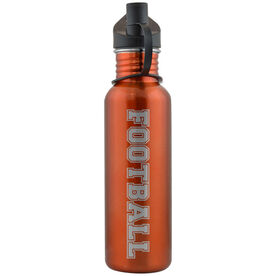 Varsity Football 24 oz Stainless Steel Water Bottle