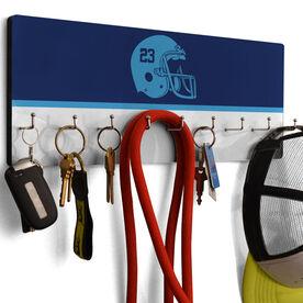 Football Hook Board Football Helmet
