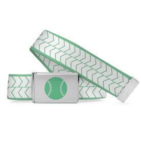 Softball Lifestyle Belt Softball Arrows